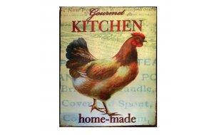 Χειροποίητο Διακοσμητικό Πινακάκι Gourmet Kitchen