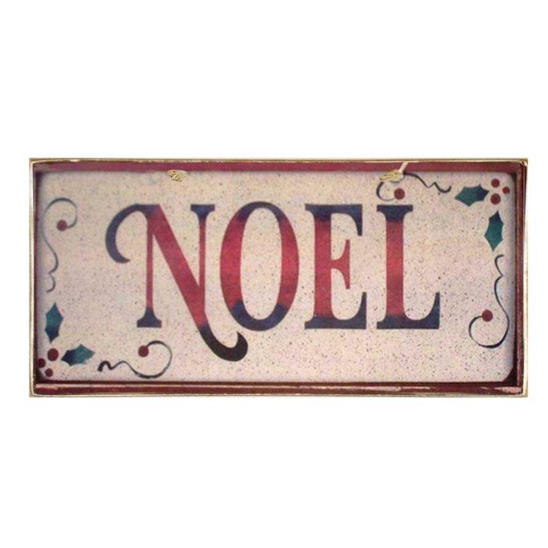 Xειροποίητο Χριστουγεννιάτικο ταμπελάκι  Noel