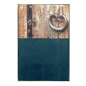 Χειροποίητος Μαυροπίνακας - Κλειδαριά 21 Χ 30 εκατοστά