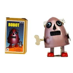 Kουρδιστό παιχνίδι ρομποτάκι φούξια