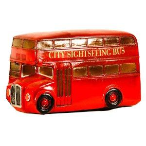 Φωτιστικό με LED Αγγλικό Λεωφορείο 20cm