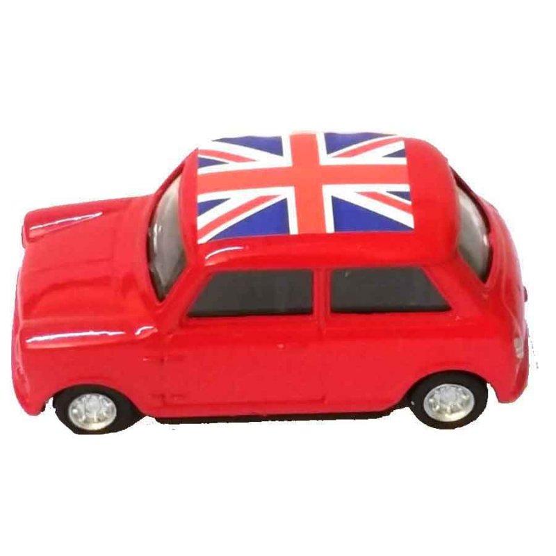Mini Cooper -  Μεταλλική μινιατούρα και ξύστρα 7cm