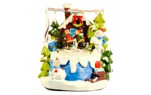 Santas  Διακοσμητικό  με φως κίνηση & μουσική