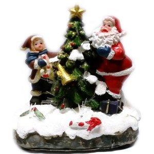 SP Χριστουγεννιάτικη Παράσταση Με Φώς 11cm