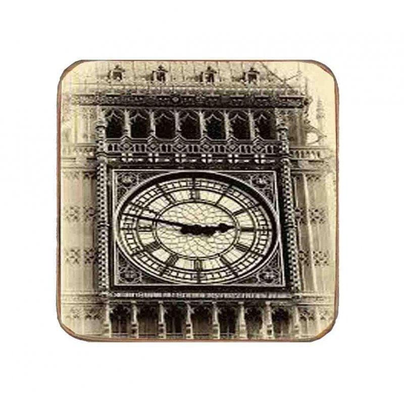 Σουβέρ Ξύλινo Χειροποίητo Big Ben  10073