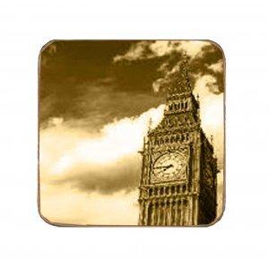 Σουβέρ Ξύλινα Χειροποίητα London Σετ 6 τεμάχια 60070