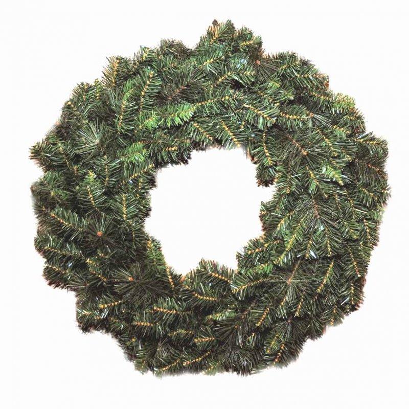 Στεφάνι Χριστουγεννιάτικο μικτό ND και PVC με διάμετρο 75εκ