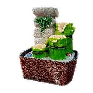 Bamboo I συντριβάνι διακοσμητικό με  τρεχούμενο νερό 13x16x22 ε&kappa