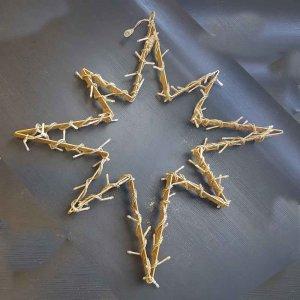 Αστέρι μεταλλικό κρεμαστό με φωτάκια 90εκ