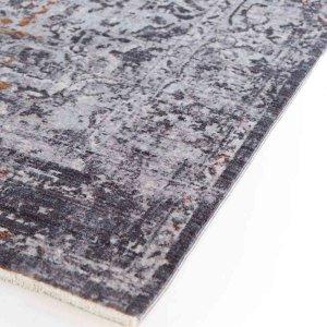 Rusty χαλί με μοντέρνο σχέδιο και ξεθωριασμένο γκρι χρώμα  160x234 εκ