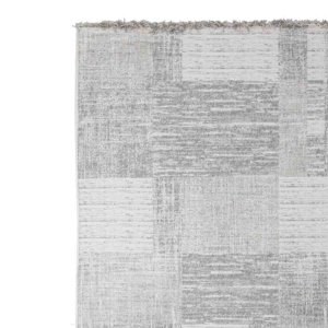 Chivas ψάθινο χαλί σε γκρι απόχρωση 57x90 εκ | Echo Deco