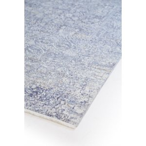 Artizan χαλί με πολλά χρώματα και κλασική αφηρημένη όψη