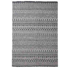 Boho καλοκαιρινό χαλί με γραμμικά σχέδια 130x190 εκ