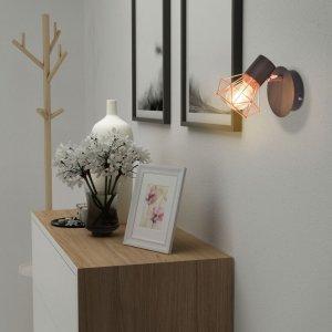 Απλίκες Τοίχου 2 τεμ. με 2 Λαμπτήρες LED Filament 8 W