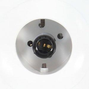Φωτιστικό Κρεμαστό Λευκό από Σίδηρο και Μασίφ Ξύλο Μάνγκο Ε27