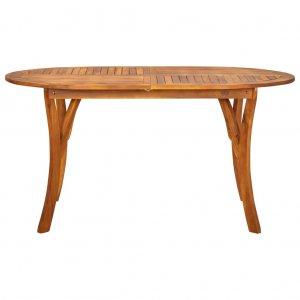 Τραπέζι Κήπου 150 x 90 x 75 εκ. Μασίφ Ξύλο Ακακίας