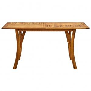 Τραπέζι Κήπου 150 x 90 x 75 εκ. από Μασίφ Ξύλο Ακακίας