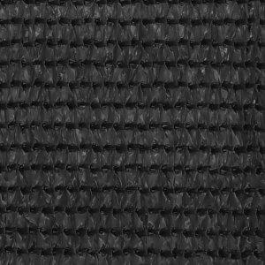 Διαχωριστικό Βεράντας Ανθρακί 120 x 500 εκ. από HDPE