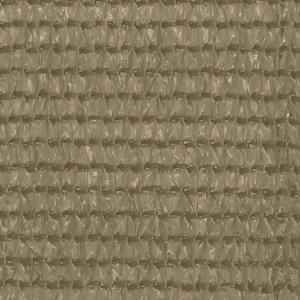 Διαχωριστικό Βεράντας Taupe 120 x 300 εκ. από HDPE