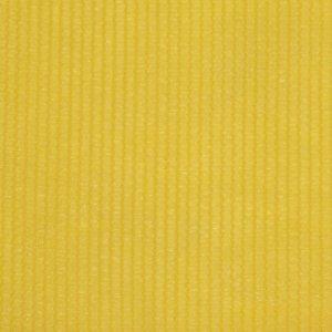 Διαχωριστικό Βεράντας Κίτρινο 75 x 400 εκ. από HDPE