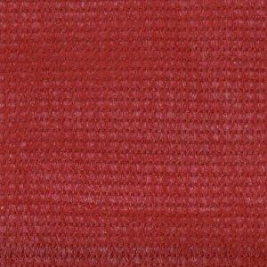 Διαχωριστικό Βεράντας Κόκκινο 75 x 400 εκ. από HDPE