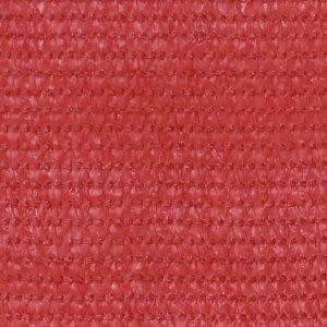 Διαχωριστικό Βεράντας Κόκκινο 75 x 500 εκ. από HDPE