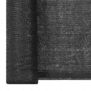 Δίχτυ Σκίασης Μαύρο 1 x 10 μ. από HDPE 150 γρ./μ²