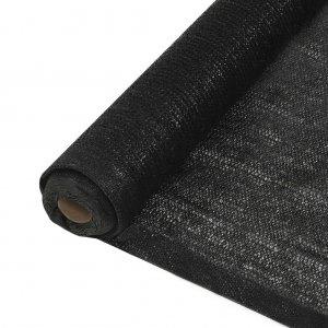 Δίχτυ Σκίασης Μαύρο 1 x 25 μ. από HDPE 150 γρ./μ²