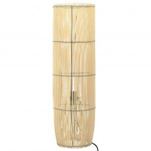 Φωτιστικό Δαπέδου 52 εκ. Ξύλο Ιτιάς Ε27
