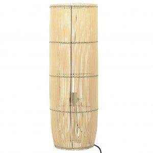 Φωτιστικό Δαπέδου 84 εκ. Ξύλο Ιτιάς Ε27