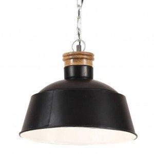 Φωτιστικό Κρεμαστό Industrial Μαύρο 32 εκ. E27