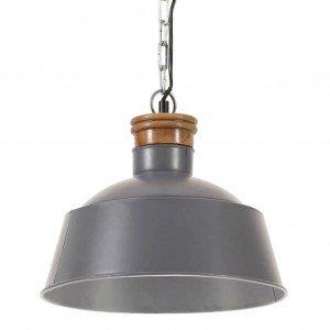 Φωτιστικό Κρεμαστό Industrial Γκρι 32 εκ. E27