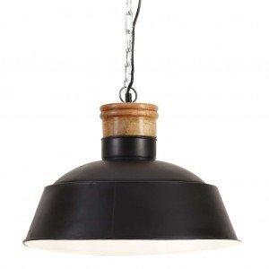 Φωτιστικό Κρεμαστό Industrial Μαύρο 42 εκ. E27
