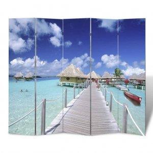 Διαχωριστικό Δωματίου Πτυσσόμενο Παραλία 200 x 170 εκ.