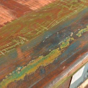 Συρταριέρα με 4 Συρτάρια από Μασίφ Ανακυκλωμένο Ξύλ&omicron