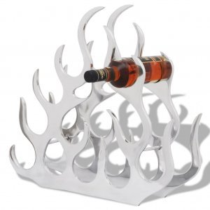 Ραφιέρα/Σταντ Κρασιών για 11 Μπουκάλια Ασημί από Αλου