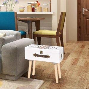 Βοηθητικό Τραπέζι Λευκό 40 x 30 x 41,5 εκ.