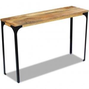 Κονσόλα τραπέζι 120 x 35 x 76 εκ από ξύλο μάνγκο