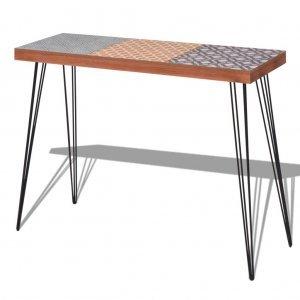 Κονσόλα τραπέζι καφέ 90 x 30 x 71,5 εκ