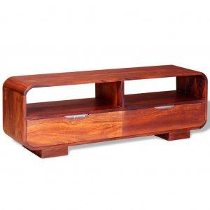 Έπιπλο τηλεόρασης από μασίφ ξύλο sheesham 116 x 30 x 40 εκ