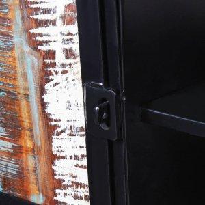 Έπιπλο τηλεόρασης  από μασίφ ανακυκλωμένο ξύλο 120 x 30 x 45 ε&
