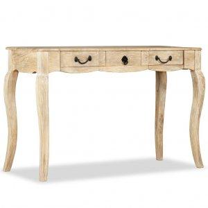 Κονσόλα τραπέζι 120 x 50 x 80 εκ από μασίφ ξύλο μάνγκο