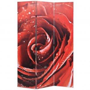Διαχωριστικό Δωματίου Τριαντάφυλλο Κόκκινο 120 x 170 ε