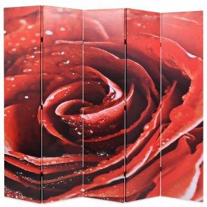 Διαχωριστικό Δωματίου Τριαντάφυλλο Κόκκινο 200 x 170 ε