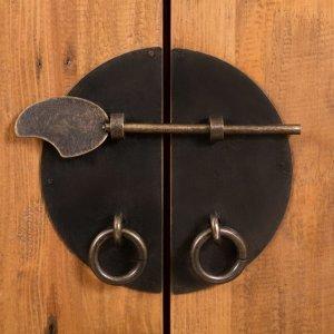 Σετ Επίπλων Μπάνιου από Μασίφ Ανακυκλωμένο Ξύλο Πεύκου