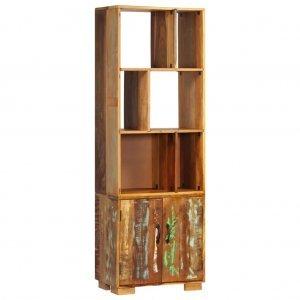 Βιβλιοθήκη 60 x 35 x 180 εκ. από Μασίφ Ανακυκλωμένο Ξύλο