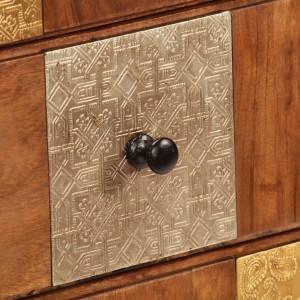 Συρταριέρα 60 x 30 x 75 εκ. από Μασίφ Ξύλο Ακακίας