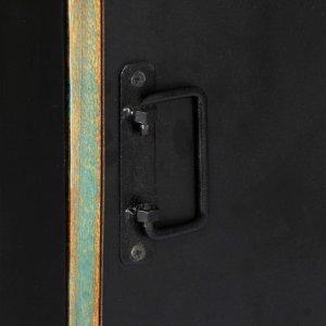 Βιβλιοθήκη 45 x 30 x 171 εκ. από Μασίφ Ανακυκλωμένο Ξύλο
