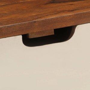 Γραφείο 110 x 50 x 90 εκ. από Μασίφ Ξύλο Ακακίας