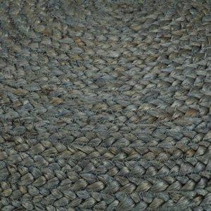 Πουφ Χειροποίητο Πράσινο Λαδί 45 x 30 εκ. από Γιούτα